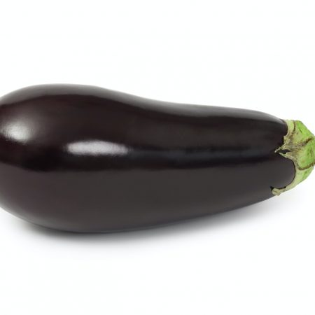 Eggplant isolated