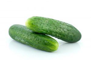 Pair of cucumbers